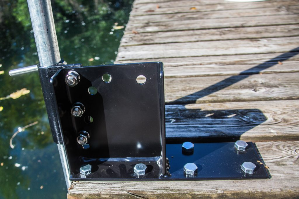 Wood dock surface mt4